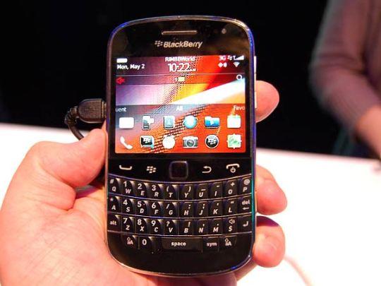 Ganhe um celular Blackberry 9900 Bold gratuito