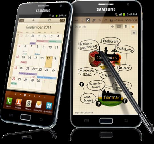 Ganhe um Samsung Galaxy Note