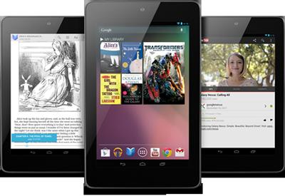 Ganhe um tablet Google Nexus 7